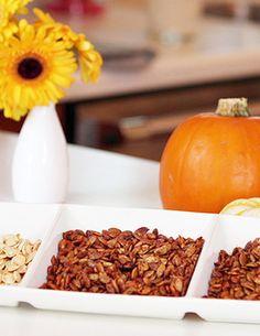 Pumpkin Seeds 3 Ways: Sweet, Salty, and Supersavory