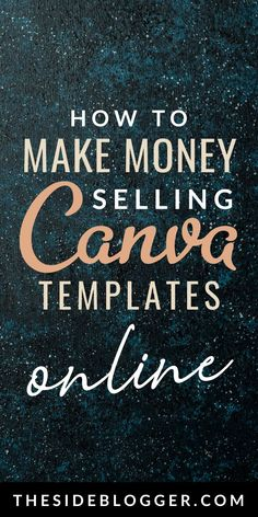 How to Make Money Selling Canva Templates Online - There are plenty of ways to make money online, one of them is by selling digital designs. Canva has - Online Graphic Design, Graphic Design Tools, Media Design, Make Money Blogging, Way To Make Money, Make Money Online, Saving Money, Digital Marketing Strategy, Content Marketing