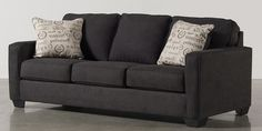 Alenya Charcoal Queen Sofa Sleeper Living Spaces