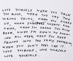 """Saw this today & it hit me like Unconditional Self Love. Not only when you act how you feel you """"should"""" or in a way that makes you proud. You are worthy of love at ALL times especially from yourself. Pretty Words, Beautiful Words, Cool Words, Mood Quotes, Positive Quotes, Life Quotes, Motivation, Note To Self, Mantra"""