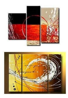 Extra large hand painted art paintings for home decoration. Large wall art, canvas painting for bedroom, dining room and living room, buy art online. 3 Piece Canvas Art, 3 Piece Wall Art, Large Wall Art, Artwork Online, Online Painting, Art Online, Living Room Canvas Painting, Hand Painting Art, Colorful Paintings