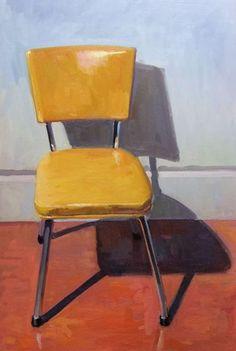 Brian Harvey - Yellow Vinyl Chair, 2010