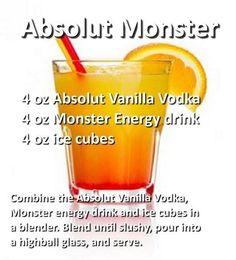 Liquor Shots, Liquor Drinks, Vodka Drinks, Yummy Drinks, Alcoholic Drinks, Cocktail Shots, Cocktail Ideas, Happy Hour Drinks, Cocktails
