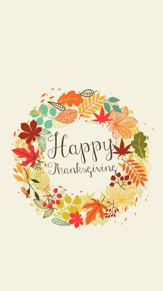 Happy Thanksgiving iPhone Wallpapers. Check out these beautiful holidays iPhone wallpapers collection! - happy holidays thanksgiving | mobile9