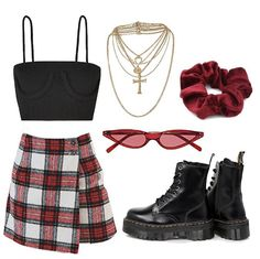 Cute Edgy Outfits, Casual Winter Outfits, Modern Outfits, Retro Outfits, Summer Outfits, Teen Fashion Outfits, Star Fashion, Womens Fashion, Fashion Capsule