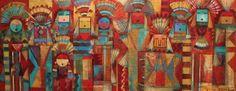 Ancestral Congregation  by Tony Abeyta