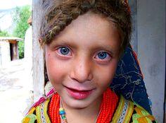 Kalash girl. Pakistan.