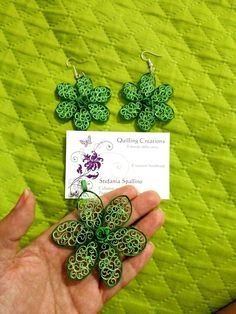 Fiore jewelry in quilling