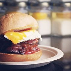 L.A.'s 31 Best Cheap-Eats Spots (& What To Order) #refinery29  http://www.refinery29.com/los-angeles-cheap-eats#slide-8  The Spot: Eggslut What To Order: Bacon, Egg, and Cheese Sandwich This DTLA spot inside the Grand Central Market is an institution for good reason: great food, affordable prices. What more could you ask for? If you think its bacon, egg, and cheese sandwich is going to be like any other version you've had, you're sorely mistaken. Eggslut, 317 South Broadway (near West 4th…