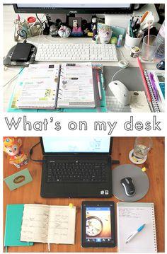 Live it . Love it . Make it.: Whats on my desk
