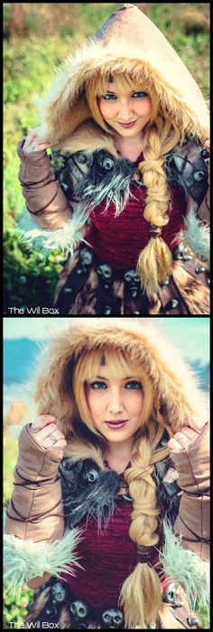 Astrid #HTTYD2 Costume by Tarah Tex Cosplay Photo by Will Box