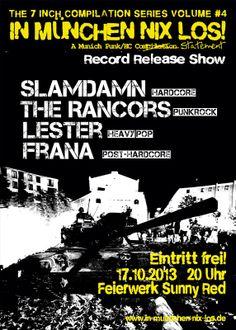 2013-10-17 In München Nix Los! Release Vol. 4