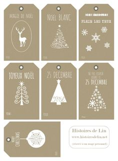 Gift cars ideas for christmas diy simple Trendy Ideas Noel Christmas, Christmas Gift Tags, Christmas Wrapping, Christmas Crafts, Diy Xmas, Diy Weihnachten, Christmas Printables, Merry Xmas, Christmas Inspiration