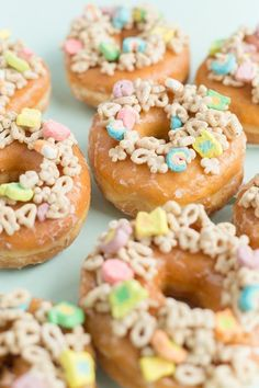 """sweetoothgirl: """"DONUTS FOR ST. PATRICK'S DAY """""""