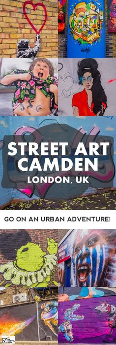 Join The Travel Tester in search for the best Street Art in the Camden neighbourhood in London with Intrepid's Urban Adventures Crew || The Travel Tester - Self-Development through Travel: