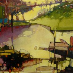 Kim Curtis. oil on panel