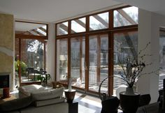 If we had so much space at our place! A dream by MM Timber Windows.