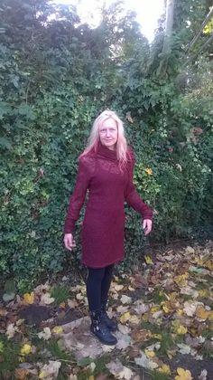Burdastyle cowl dress 12/2014