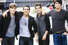 Big Time Rush, laugh if you want...it comes with having a 5 year old niece. I'm hooked on it now lol
