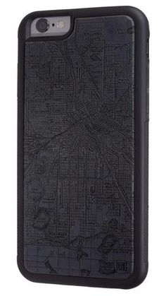 Minneapolis Streetcar Map - Paper Case with Richlite for iPhone 6/6s & 6/6s Plus