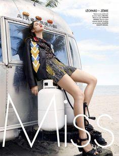 Anais Pouliot, canadian model for ELLE France April 2016 by Kerry Hallihan Terry Richardson, Fashion Shoot, Editorial Fashion, Car Editorial, Prada, Urban Outfitters, Style Photoshoot, Tamara, Burning Man Fashion
