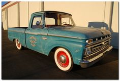 1968 Ford F100 painted engines   Please click on image for a larger view