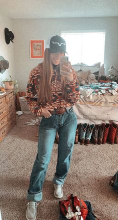 Rodeo Outfits, Cute Cowgirl Outfits, Fair Outfits, Cute Casual Outfits, Fashion Outfits, School Outfits, Fashion Fashion, Country Style Outfits, Southern Outfits