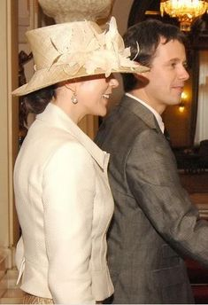 Crown Princess Mary, October 8, 2007 in Susanne Juul |Royal Hats