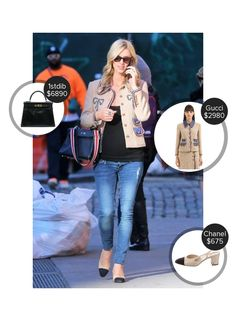 Nicky Hilton New York City - seen in Gucci, Chanel and carrying 1stdibs. #gucci #1stdibs #chanel  #nickyhilton @mode.ai