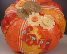 Shades of Orange Pumpkin