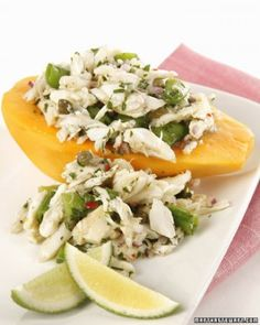 "See the ""Golden Papaya and Crab Salad"" in our Baby Shower Salad and Sandwich Recipes gallery"