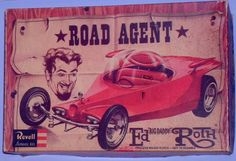 "Revell - Ed ""Big Daddy"" Roth's ""Road Agent"" model kit"