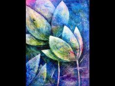Blumen und Stillleben Acrylmalerei   Flowers and Still life Acrylic paintings - YouTube