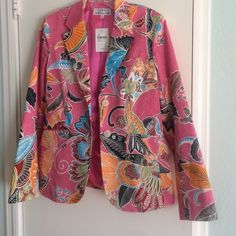 Andrea Becker spring blazer NWT Spring blazer size 6. Brand new with tags Andrea Becker Jackets & Coats Blazers