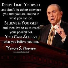 Don't get discouraged. Numbers and words can't truly describe you, and they most defiantly can't limit you. If you work hard enough and long enough and faithful enough you can accomplish what you need and want. #lds #Mormon #CTR
