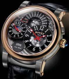 Chubster's choice : Men's Watches - Watches for Men ! - Coup de cœur du Chubster Montre pour homme ! -  Bovet Dimier Recital Watch Collection
