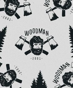 New branding and presentation work for Woodman.  The three great elemental sounds in nature are the sound of rain, the sound of wind in a primeval wood, and the sound of outer ocean on a beach.  #logo #design #graphicdesign #branding #logodesign #art #brand #graphic #typography #graphics #illustration #creative #illustrator #identity #designer #handdrawn #drawing #lettering #handlettering #sketch #type #handmade #doodle #pencil #calligraphy #wood #nature #tree #woodworking #forest