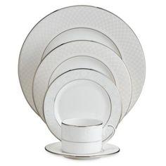 Lenox® Venetian Lace Dinnerware Collection - BedBathandBeyond.com