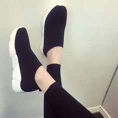 Buy Shoesun Sock Sneakers at YesStyle.com! Quality products at remarkable prices. FREE Worldwide Shipping available!
