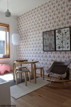 Kids' room in Lakka Kivitalot Heikkinen - Asuntomessut 2014 housing fair.