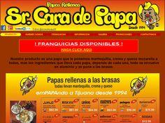 Negocio establecido desde 1994 en Tijuana,B.C. Papas rellenas de diferentes ingredientes, envueltas en aluminio y puestas a las brasas.Franquicias en venta.