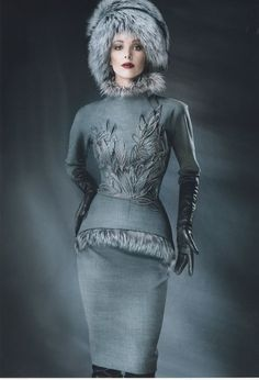 The Autumn Winter collection from the house of Yulia Yaninais the one we have all be wainting for.