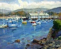 Monterey Harbor.. Ronaldo Macedo..