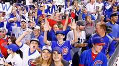 Man Must Think It Enough To Wear Blackhawks Jersey At Cubs Game