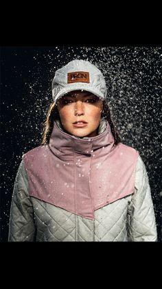 BRGN by Lunde & Gaundal, Sky padded Coat, Woodrose The Darkest, Scandinavian, Hoods, Raincoat, Baseball Hats, Winter Jackets, Spring Summer, Weather, Urban