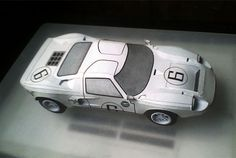 Paperized: Ford GT40 Paper Model