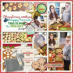 Layout using Santa Season:Holiday Baking by Clever Monkey Graphics at Gingerscraps http://store.gingerscraps.net/ssholidayBaking-by-Clever-Monkey-Graphics.html
