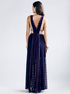 Free People FP New Romantics Dark Side Maxi at Free People Clothing Boutique