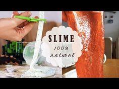 Deux recettes maison pour faire du slime comestible et naturel sans colle, borax ou lessive pour les activités sensorielles des tout-petits.