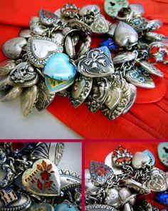charm bracelet victorian 1909ventilo - Google Search